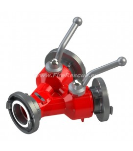 DOUBLE WATER DISTRIBUTER C/CC WITH BALL VALVES