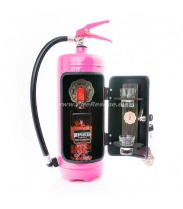 FIRE EXTINGUISHER MINI BAR - PINK